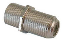 F Type Connector - Female To Female Coupler (F81), Pkg/10