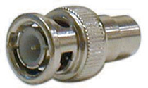 BNC Male To RCA Female Adapter, Pkg/10