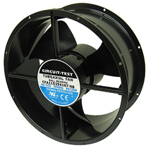 Fan 115Vac, 254mm X 107mm, 850 CFM, Ball Bearing