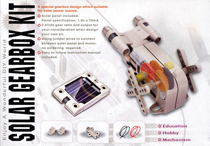 Gearbox Kit - with Solar Panel