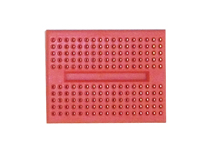 Breadboard, 170 Holes, 35x45mm - Red