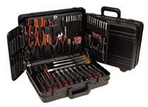 Tool Kit with Black Attache Case, 86 pieces