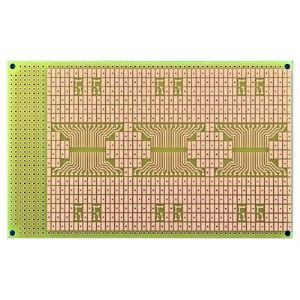 SMT Board, SOIC Footprints, Size 3 (100x160mm), 0.8mm thick