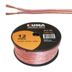 High Performance Speaker Wire, 12AWG, 100ft