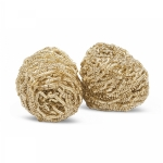 Replacement Metal Brass Wool for WDC, Pkg/2