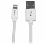 2m (6ft) Long White Apple 8-pin Lightning Connector to USB Cable for iPhone / iPod / iPad